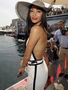Nicole Scherzinger looking hot in Europe.