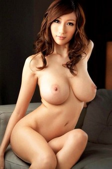 Asian pornstar with huge boobs topless