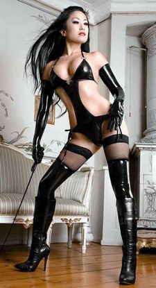 If looks could kill ;-) Meet your #bdsm #mistress the bdsm #dating site where..