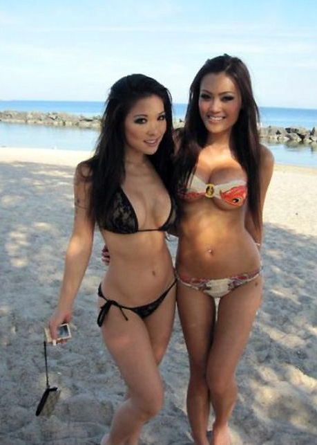 Two hot girls.